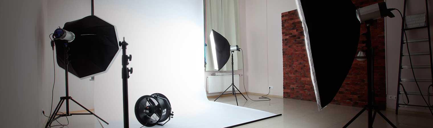 Fotografía de iluminación y estudio